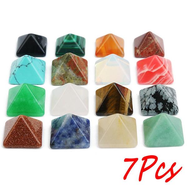 Jewelry, quartzstone, crystalstone, clearcrystalpyramid