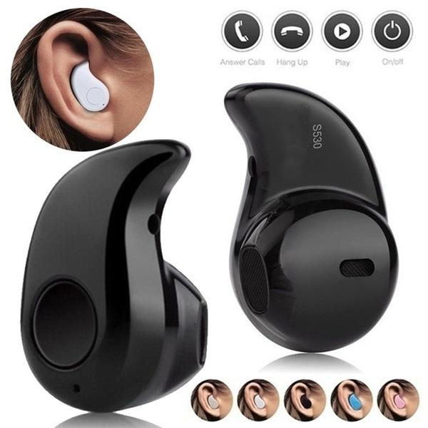 Mini, Microphone, Earphone, Stereo
