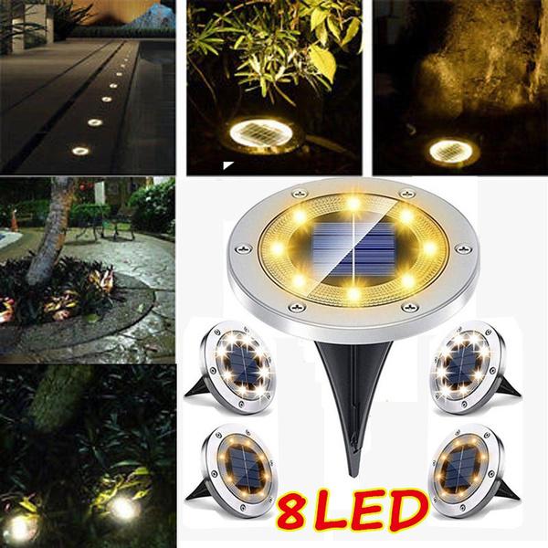 Steel, Outdoor, led, Garden