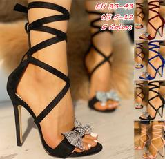 stilettoheel, Sandals, partyshoe, Jewelry