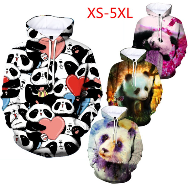3D hoodies, Plus Size, animal print, Spring