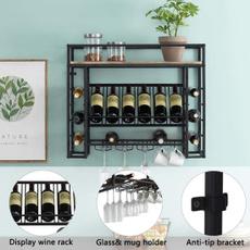 wallmountedwinerack, wineholder, wineorganizer, Home & Living