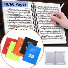 Storage, papersheetsfolder, musicscorefolder, a4sheetsholder