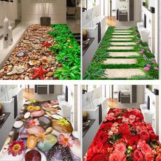 living, Bathroom, Flowers, Garden