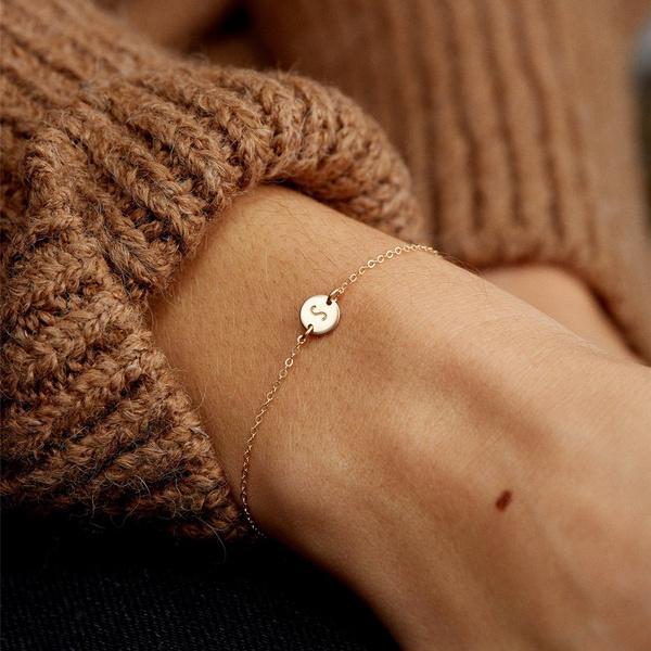 Fashion Accessory, daintybracelet, Chain bracelet, gold