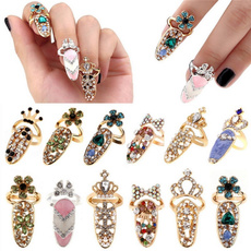 bowknot, Decor, crystal ring, Jewelry