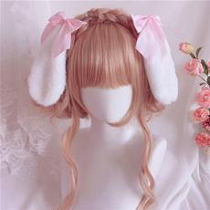 cute, Hair Clip, plushearscosplay, bunny