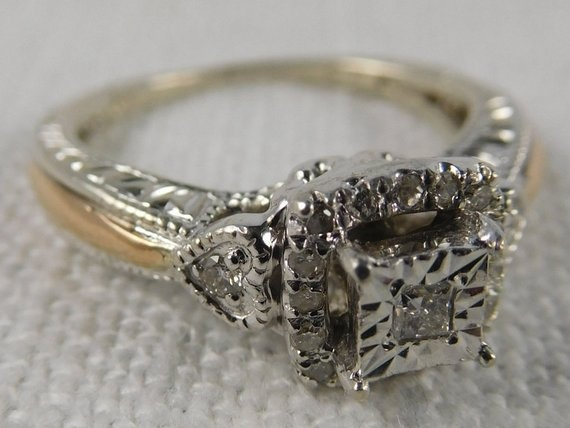 DIAMOND, 925 sterling silver, Jewelry, Silver Ring