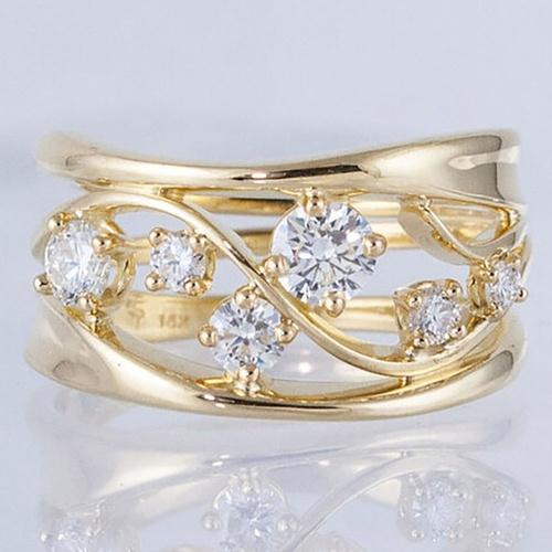 Wedding, DIAMOND, zirconring, gold