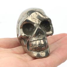 pyriteskull, pyrite, skull, Crystal