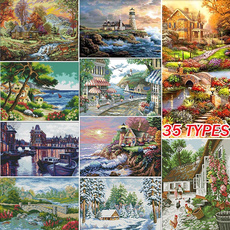 art, Home Decor, diycrossstitchkit, embroideredcloth