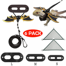 reptile, Adjustable, leather, Harness
