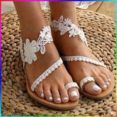bohemia, strappysandal, Lace, Womens Shoes