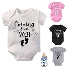 Funny, infantbabyromper, babyromper, letter print