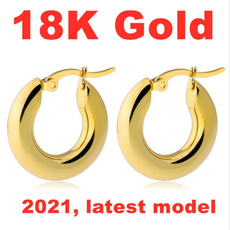yellow gold, Dangle Earring, Jewelry, gold