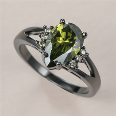 olivegreen, black, DIAMOND, Jewelry