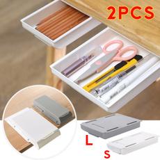 undertabledrawer, Box, drawerstoragebox, Home Organization