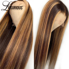 wig, brown, Women's Fashion & Accessories, Lace