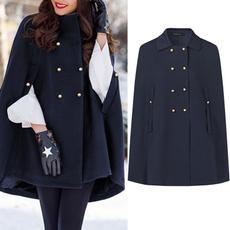 doublebreastedponcho, Fashion, Winter, cape