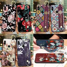 case, Flowers, wriststrapphoneholdercase, redminote9promaxcase