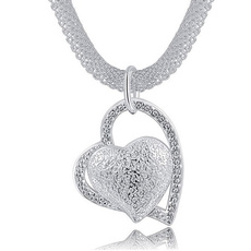 fashion necklaces for women, Sterling, loversnecklace, 925 silver necklace