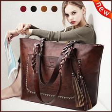 Shoulder Bags, Tassels, Fashion, Weaving