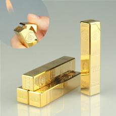 Lighter, gold, gasoline, gadget