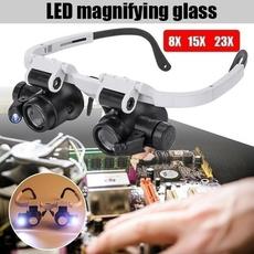 ledmagnifier, Loupes, jewelryampwatche, eye