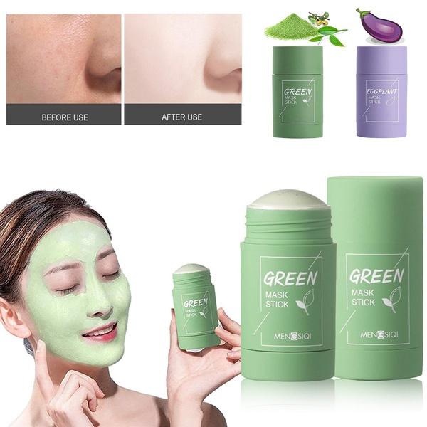 greenteamask, solidmask, Tea, makeupmask