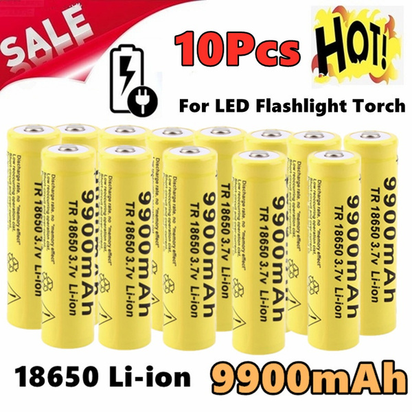 Flashlight, tr18650, Rechargeable, led