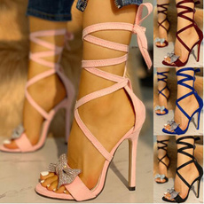 stilettoheel, Sandals, Fashion, Stiletto