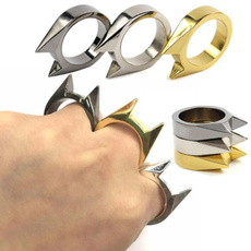 Steel, Mini, selfdefensering, Jewelry