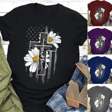 daisyprint, Plus Size, Tops & Blouses, Sleeve