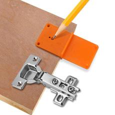 householdtoolset, Door, woodholelocator, holepunchtool