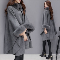 Fashion, shawljacket, casualcape, Women's Fashion