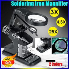 ledmagnifier, led, solderbout, lights