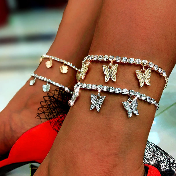 butterfly, Summer, Fashion, barefoot