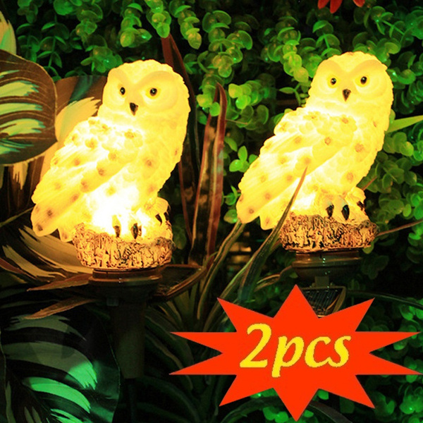 Owl, landscapelight, solargardenlight, Home Decor