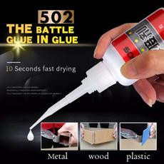 Plastic, superstrongglue, Tool, Metal