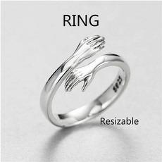 Sterling, Adjustable, Love, Jewelry