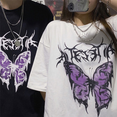 butterfly, Summer, Goth, Loose