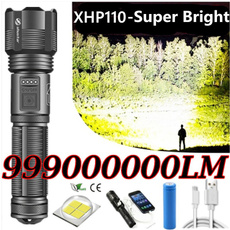 Flashlight, Batteries, Hiking, Torch