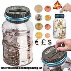 electricpiggybank, Box, lcdcountingcoin, Toy