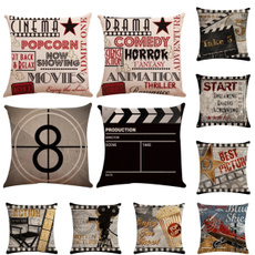 case, linencushioncover, movieproductioncushioncover, 45x45cm18x18in