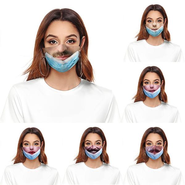 Funny, dustproofmask, mouthmask, unisex