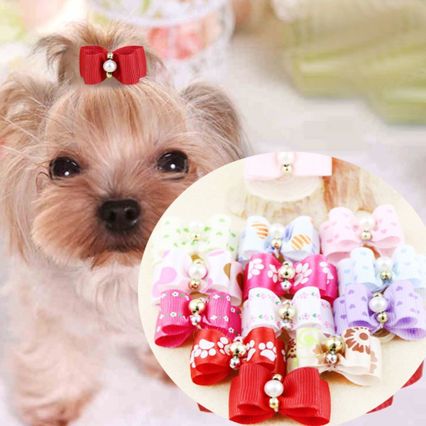 doghairbow, bowknot, puppy, Apparel & Accessories