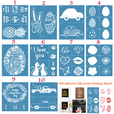 silkscreenprintingstencil, stencil, Love, Handmade