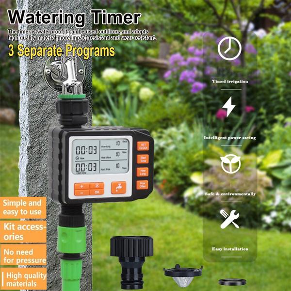 irrigation, hosetimer2outlet, Garden, Waterproof