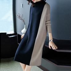 Fashion, Winter, long dress, Dress