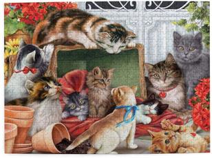 cute, intelligencegamejigsawpuzzle, Modern, art